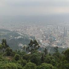 Bogota from Monseratte