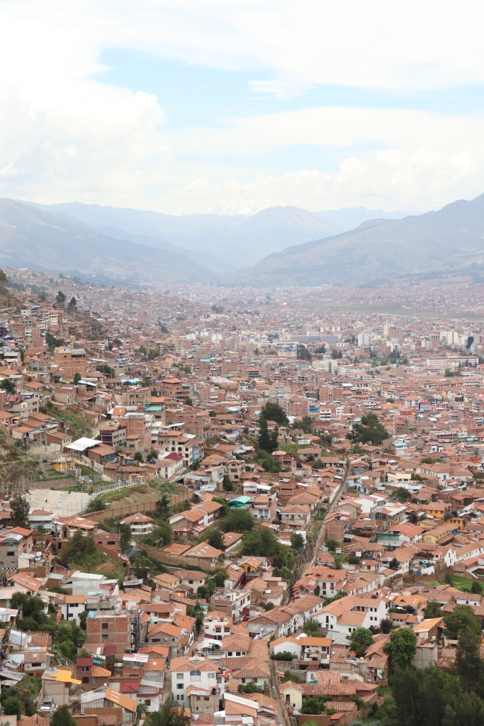 The city of Cusco