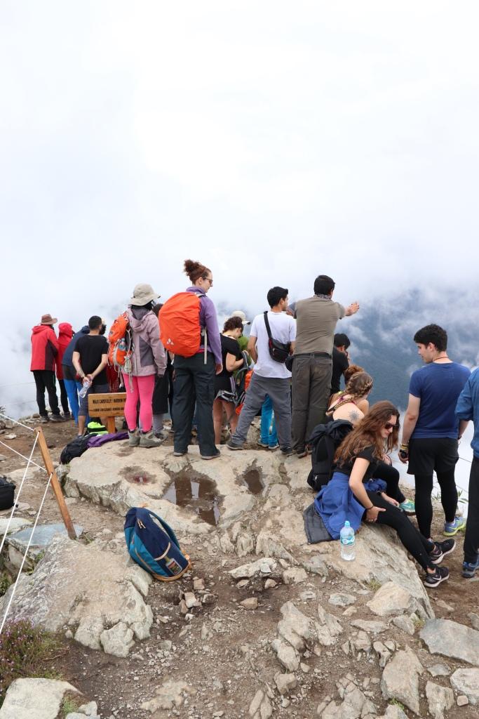 Waiting on Machu Picchu Mountain