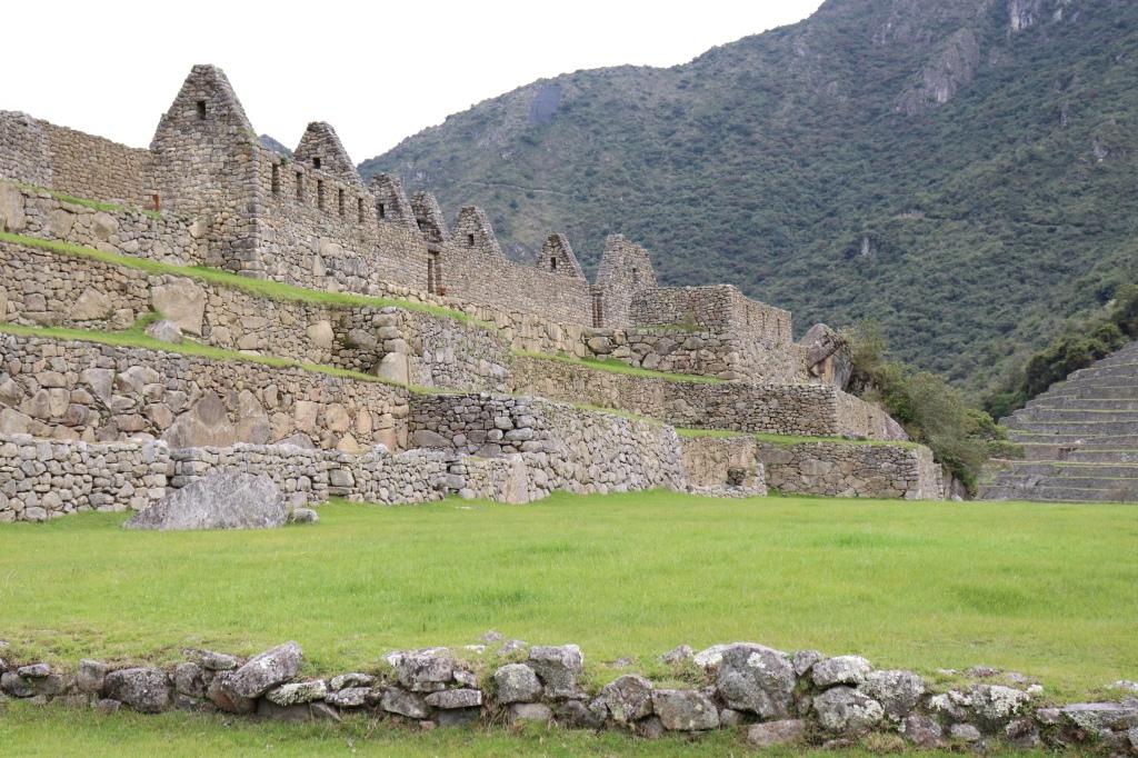 Ruins at Machu Picchu