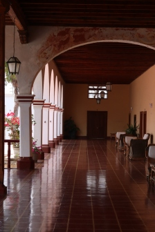 The front of the Hacienda