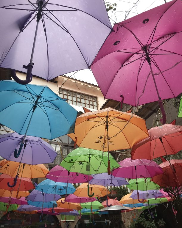Umbrellas in Cusco
